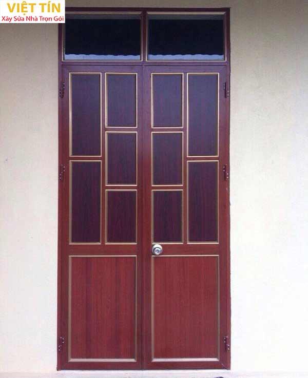 23 mẫu cửa nhôm kính 2 cánh