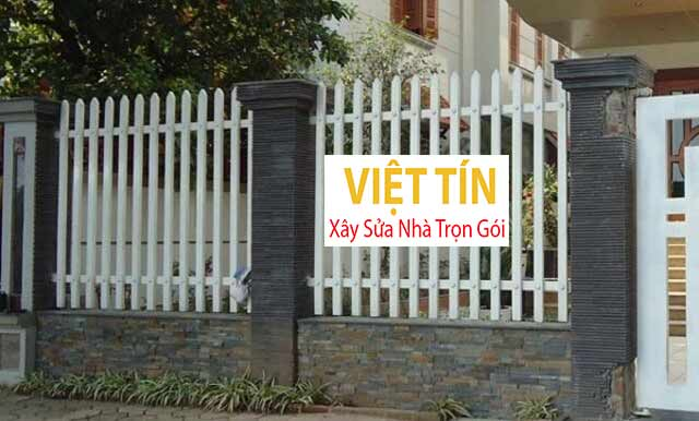 Chọn hàng mẫu hàng rào sao cho chiều cao có sự cân đối với chiều cao của ngôi nhà