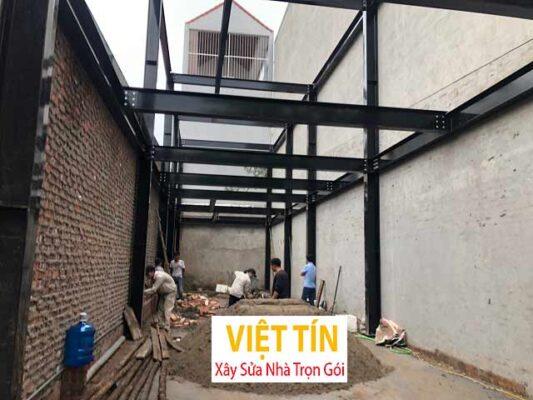 Hướng dẫn xây dựng nhà khung thép