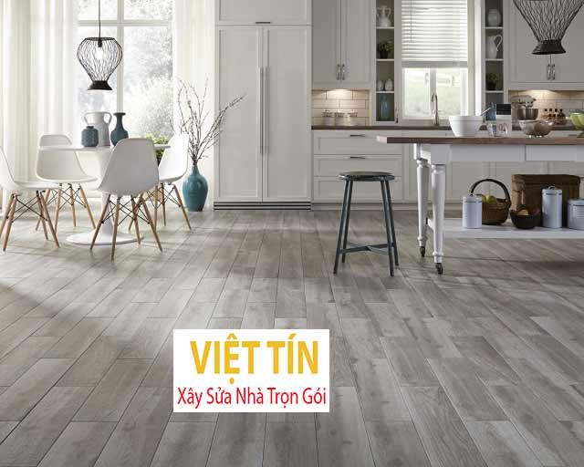 Lựa chọn sàn nhựa giả gỗ phù hợp với không gian