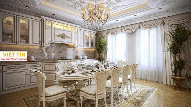 Nội thất thiết kế căn hộ theo phong cách Pháp