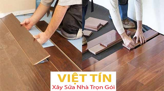 Quy trình thi công sàn gỗ cần được thực hiện tỉ mỉ, cẩn thận