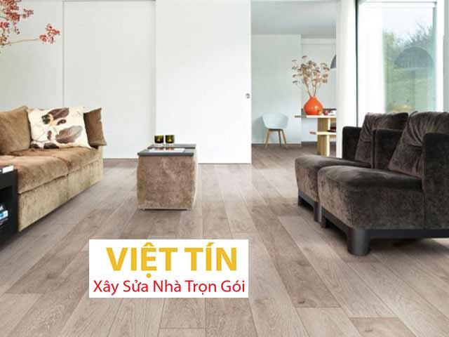 Sàn gỗ công nghiệp sở hữu bảng màu vân gỗ cực kỳ đa dạng