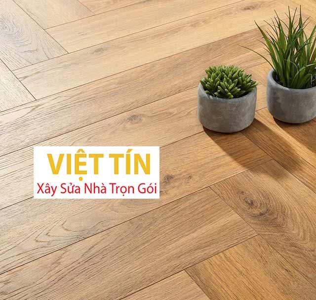 Sàn gỗ kỹ thuật thích hợp với nhiều phong cách thiết kế khác nhau