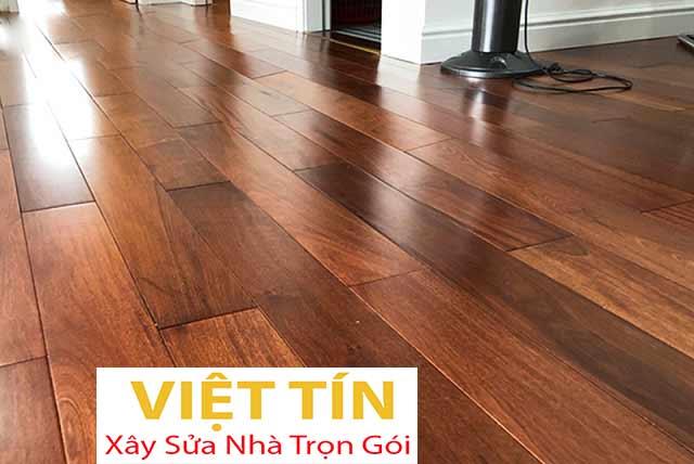 Sàn gỗ tự nhiên bền đẹp, sang trọng và tinh tế