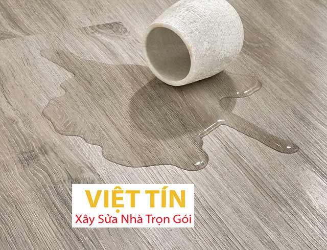 Sàn nhựa giả gỗ chống nước tốt