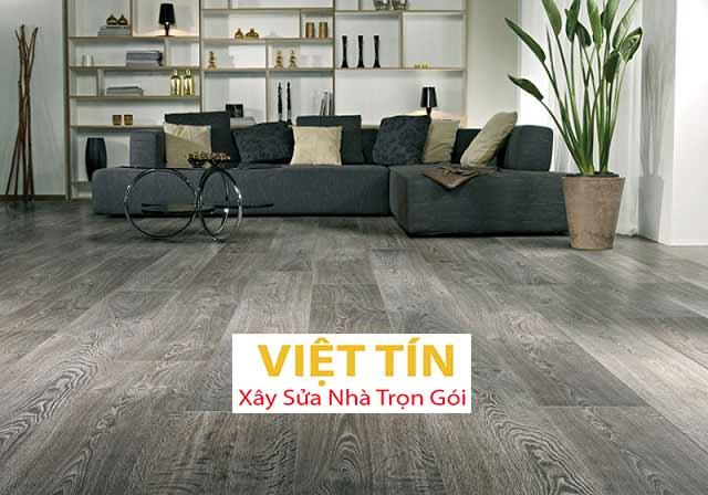 Sàn nhựa giả gỗ được làm bằng chất liệu nhựa PVC cao cấp