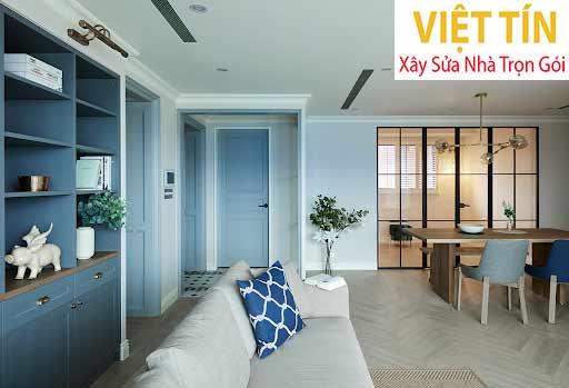 Thiết kế nội thất căn hộ phong cách Mỹ
