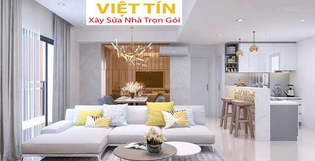 Thiết kế nội thất chung cư tạo nên không gian sống mang phong cách riêng