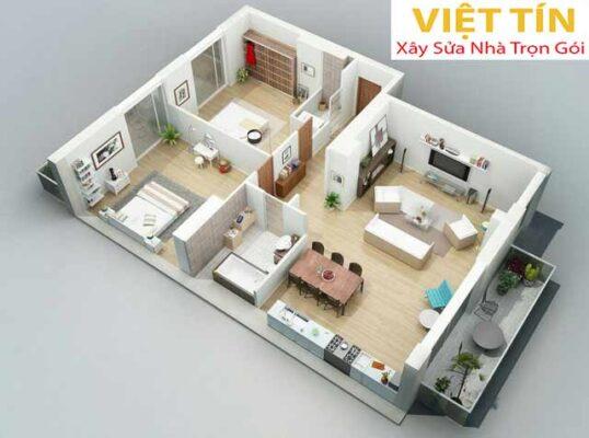 Thiết kế nội thất giúp không gian đẹp hơn, hài hòa hơn