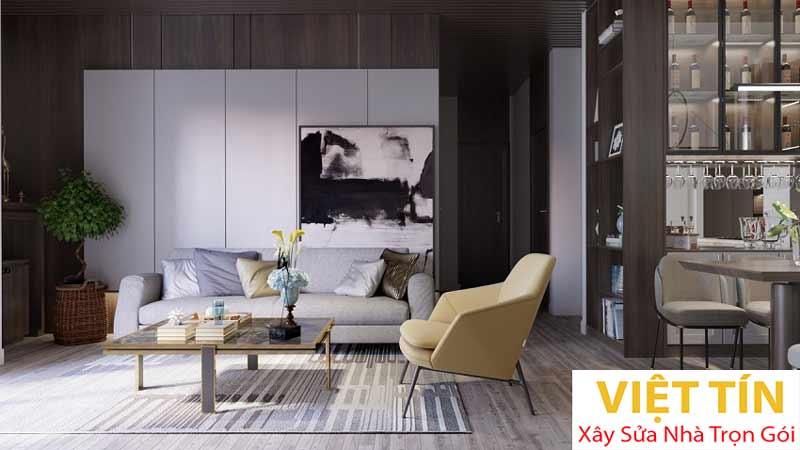 Thiết kế nội thất phong cách hiện đại 1