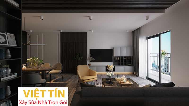 Thiết kế nội thất phong cách hiện đại 3