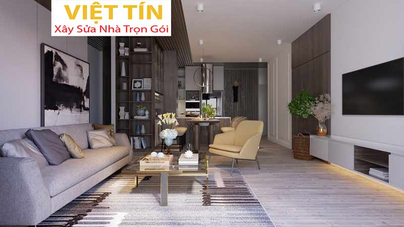 Thiết kế nội thất phong cách hiện đại 5
