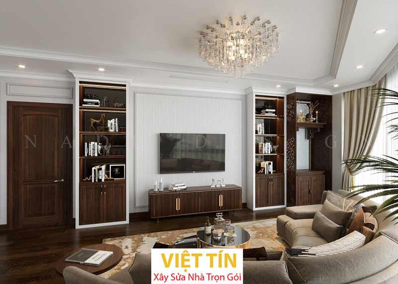 Thiết kế nội thất phong cách tân cổ điển 2