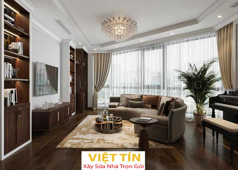 Thiết kế nội thất phong cách tân cổ điển 3