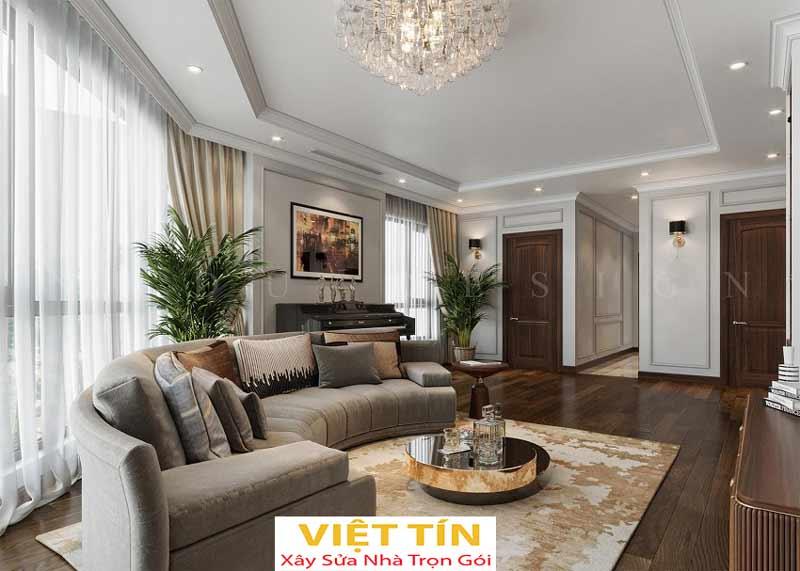 Thiết kế nội thất phong cách tân cổ điển 4