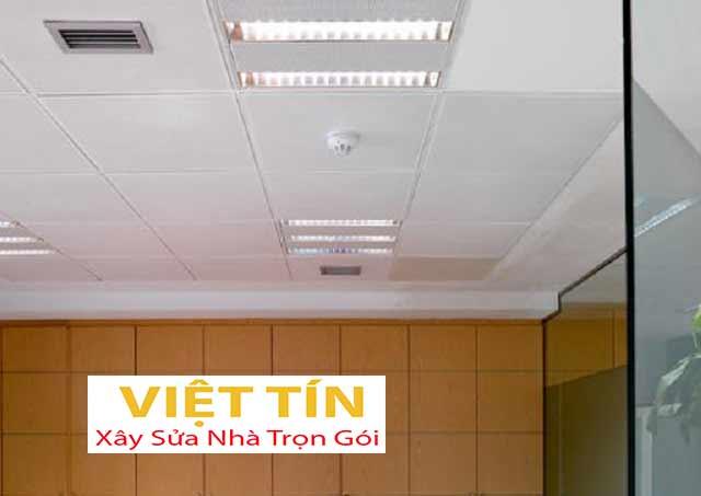 Trần nhôm Lay - in