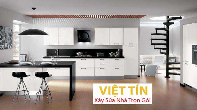 Trần nhôm 3d phòng bếp hiện đại