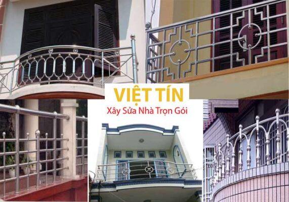 Việt Tín, đơn vị uy tín trong thi công và lắp đặt lan can inox
