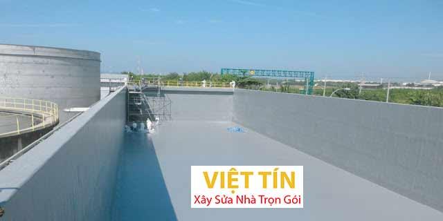 Công trình áp dụng phương pháp chống thấm bằng Composite