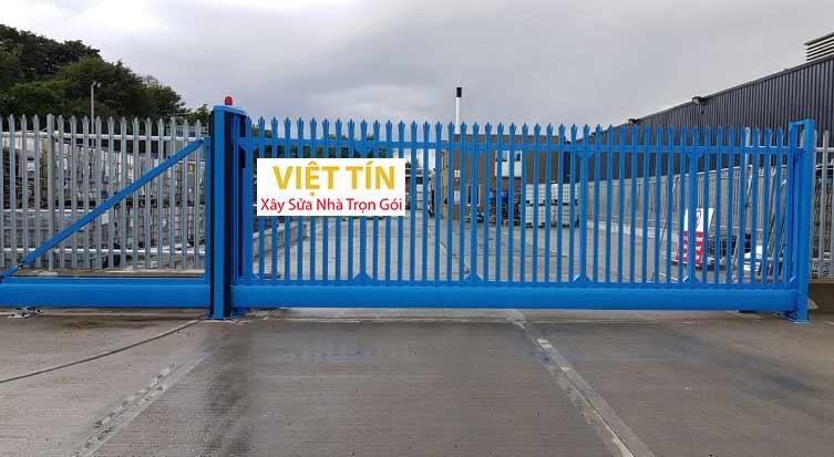 của cổng inox dùng cho công trình lớn