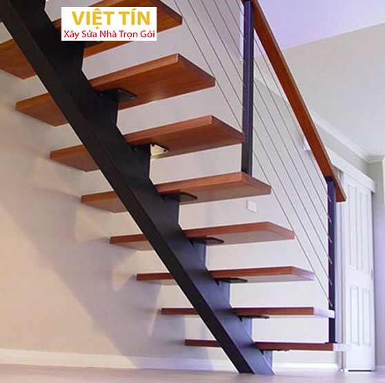 mẫu 19 cầu thang sắt hình ziczac