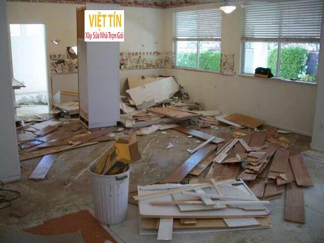 Việc sửa nhà chung cư cần được ban quản lý tòa nhà cho phép