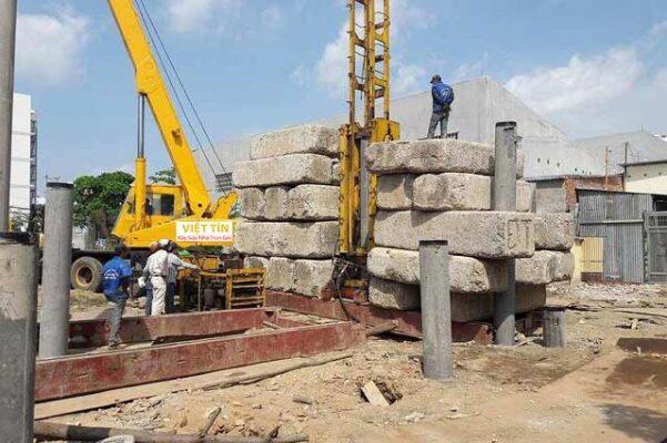 Ép cọc bê tông đóng vai trò quyết định đến chất lượng và độ bền vững của công trình