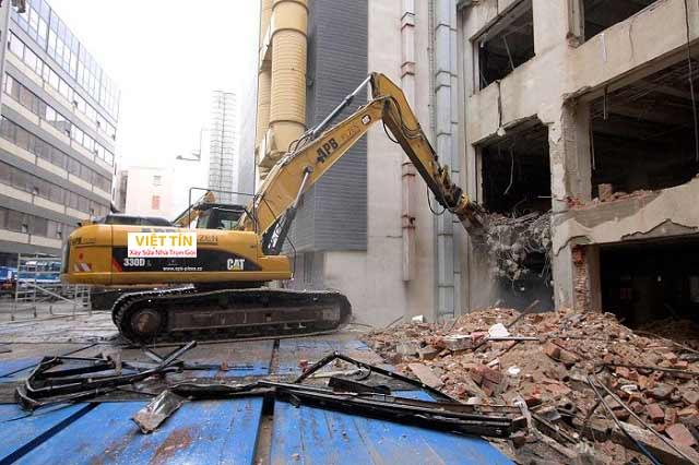 Phá dỡ nhà - Công trình