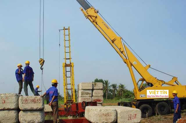 Phương pháp ép cọc bê tông có thể được thực hiện trên nhiều địa hình khác nhau
