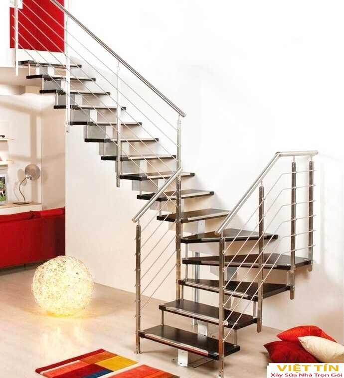 mẫu 14 cầu thang sắt mỹ thuật đẹp