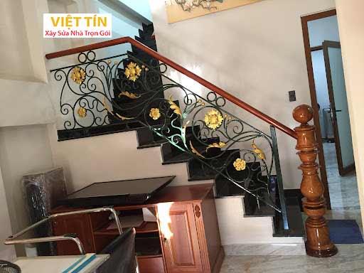 mẫu 3 cầu thang sắt mỹ thuật đẹp