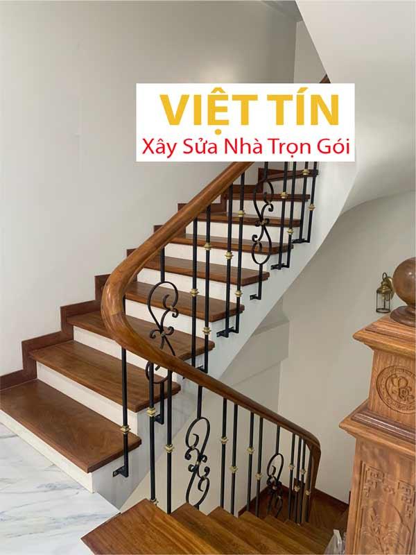 mẫu 30 cầu thang sắt nghệ thuật đẹp